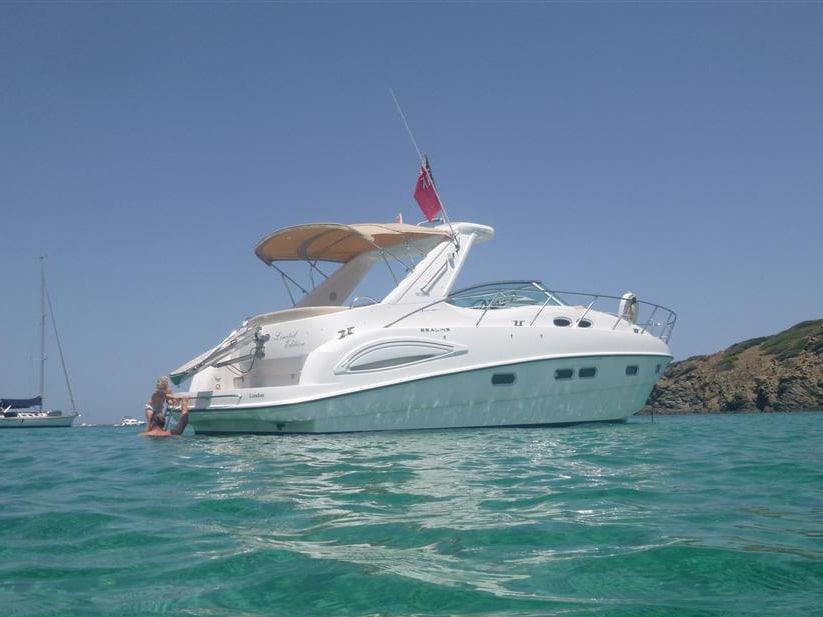 Charter Boat Menorca Sealine