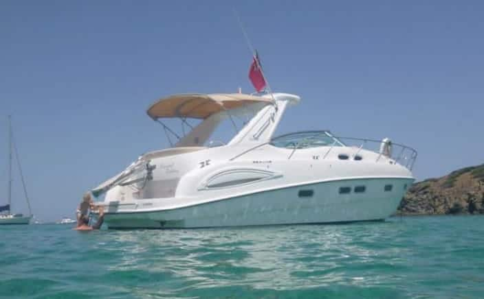 Alquilar barco sealine en Menorca